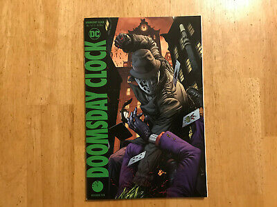 Doomsday Clock #7 Gary Frank variant NM DC Comics
