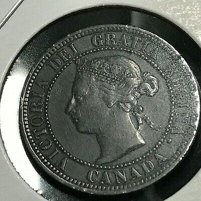 1882-H Canada Large Penny High Grade