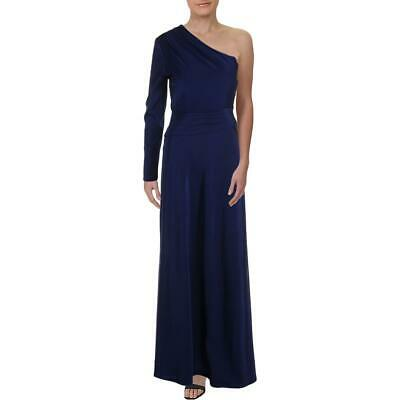 Kay Unger Womens Floral One Shoulder Formal Evening Dress Gown BHFO 9539