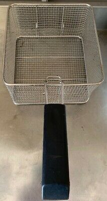 Deep fat fryer basket commercial stainless steel with handle, electric fryer