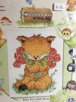 3690000\10003 Dog Starter Toby Anchor 1st Kit Counted Cross Stitch