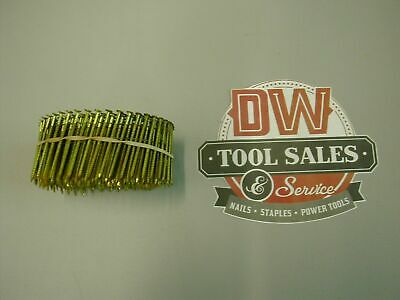 """Coil Nails 2"""" Inch Ring Shank 15 Degree (3,500)"""
