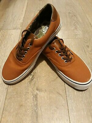 *Tried on Only* Mens Vans size 9 Brown trainers shoes footwear pumps