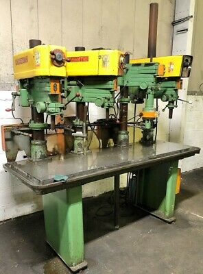 Powermatic #1200 3 Spindle Drill Press