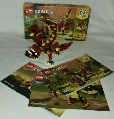 Lego Creator 31073 3Books Instructions Only