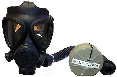 M-15 Gas Mask with Filter and Hose