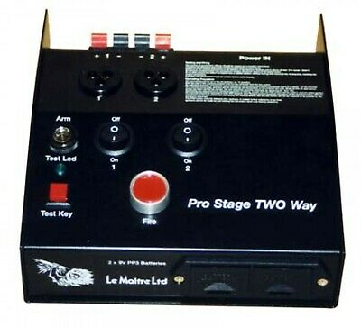 Le Maitre Prostage Two Way Pyrotechnics Controller Firing System With 2 Keys