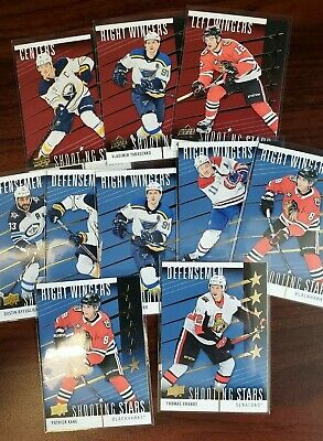 2019-20 Ud Upper Deck Series 1 Shooting Stars Kane Mackinnon Eichel Dahlin Debri