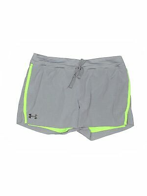 Under Armour Girls Gray Athletic Shorts XL Youth