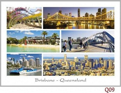 120 Postcards of SE Queensland, Noosa Heads, Fraser Island, Brisbane