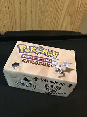 Fossil Bundle Box! Wizards Of The Coast!! Filled With Cards And Sealed Packs!!