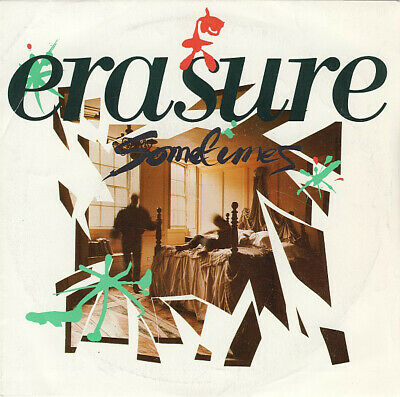 "Erasure Sometimes G+ XA5 7"", Single"