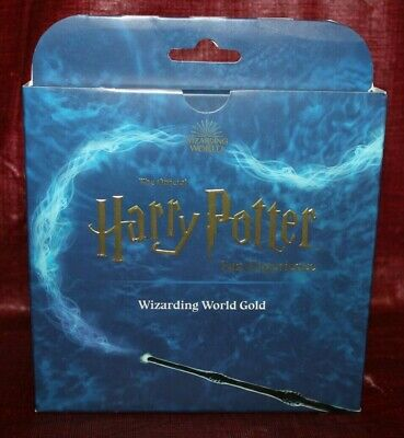 Harry Potter The Official Fan Experience Wizarding World Gold (BRAND NEW) SEALED