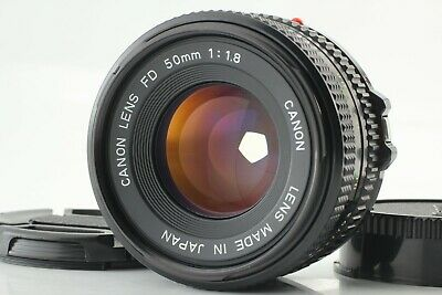 [MINT] Canon New FD 50mm f/1.8 NFD MF Lens from JAPAN #0415