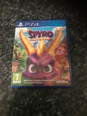 Spyro Reignited Trilogy for Playstation 4 PS4 - UK - FAST DISPATCH