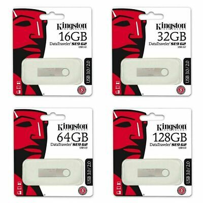 Kingston USB Memory Stick 32GB 16GB 8GB USB 3.0 Data Traveler SE9 G2 Flash Drive