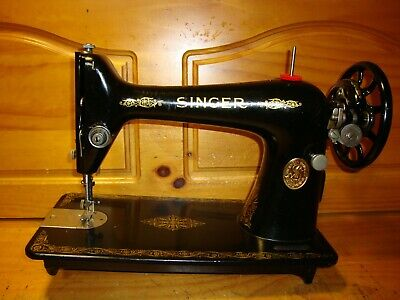 1925 Antique Singer Sewing Machine Head Model 66K, Collector, Serviced