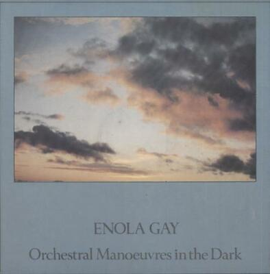 """Orchestral Manoeuvres In The Dark 7"""" vinyl single record Enola Gay French"""