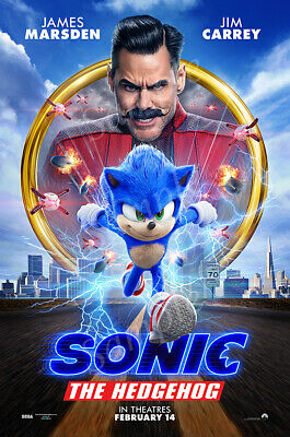 MCPoster - Sonic the Hedgehog 2020 Movie Poster Glossy Finish - PRM246