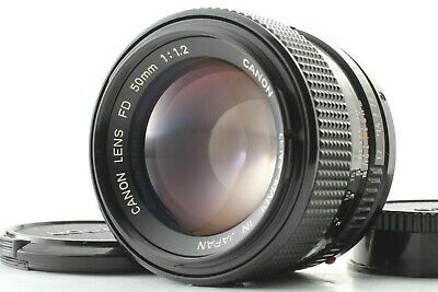 【ALMOST MINT 】 Canon New FD NFD 50mm f/1.2 Prime Standard MF Lens From JAPAN 143