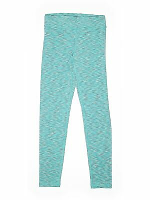 90 Degree by Reflex Girls Blue Active Pants L Youth