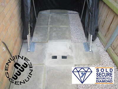 Motorbike Security Ground Anchor Sold Secure Diamond Apr, Insurance Discounts!