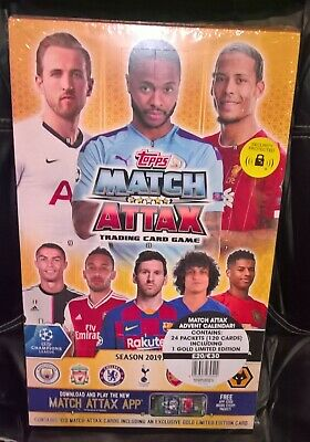 Official Topps Match Attax 2019/20 Countdown Calendar Some Boxes Are Damaged
