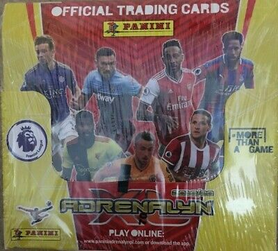 Panini Adrenalyn XL Premier League Offical Trading Cards 2019/20 Full Box Of 50