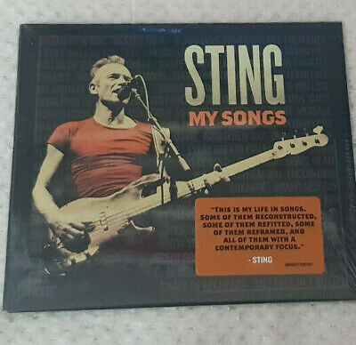 CD Album Sting - My Songs NEW & Sealed