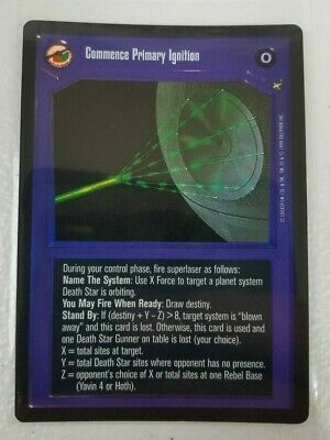 Star Wars CCG Reflections I VR FOIL Commence Primary Ignition