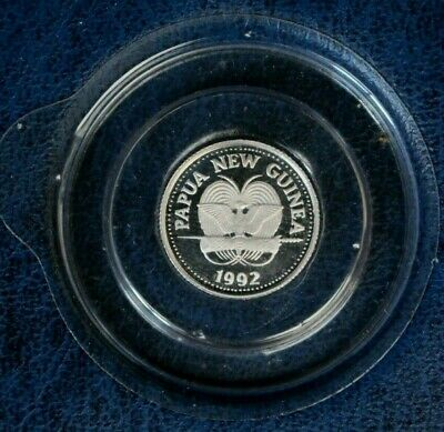 """1992 Papua New Guinea 1/20oz Platinum Proof coin """"Butterfly"""" in Holder   (AJ1/1)"""