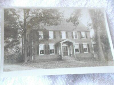 SHARON,CONNECTICUT-1930's-OLD CARTER HOUSE-REAL PHOTO POSTCARD