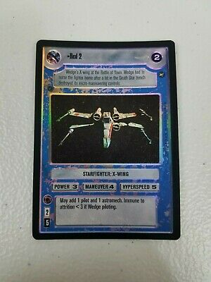 Star Wars CCG Reflections I VR FOIL Red 2