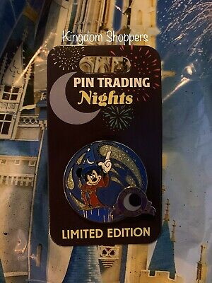 2020 New Disney Sorcerer Mickey Mouse Pin Trading Nights Pin PTN