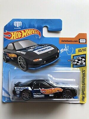 SPEED Graphics /'95 MAZDA rx-7 27-NUOVO IN SCATOLA ORIGINALE HOT WHEELS 2019