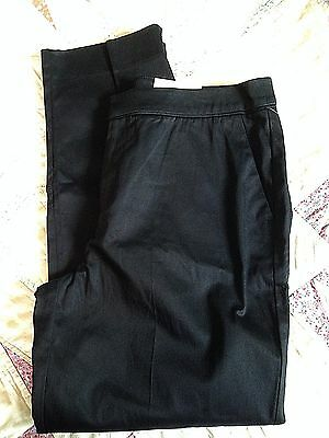 Womans Studio Works Black Pants Dress Or Casual Zipper Pockets $48.00 Nwt Size 8