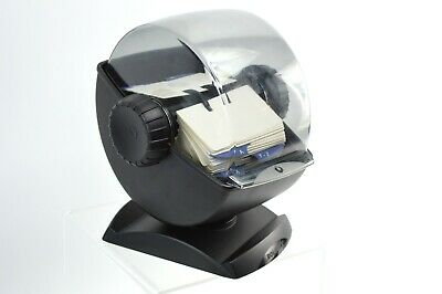 Rolodex Model 66871 Covered Office Rotary Swivel Card File 500 Cards