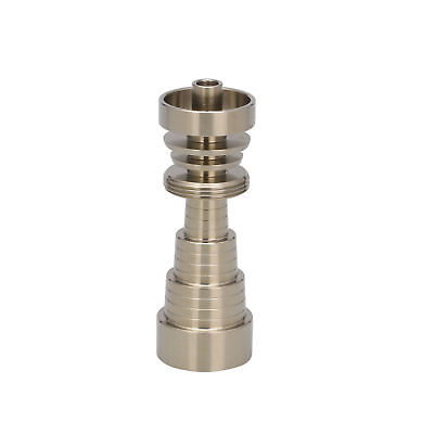 Titanium Nail Domeless Universal Male & Female Fit 10mm 14mm 18mm 6 in 1 Nail