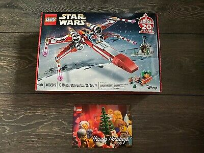 LEGO 4002019 Star Wars X-Wing Employee Gift , GOOD CONDITION ! 2019! NEW Sealed!