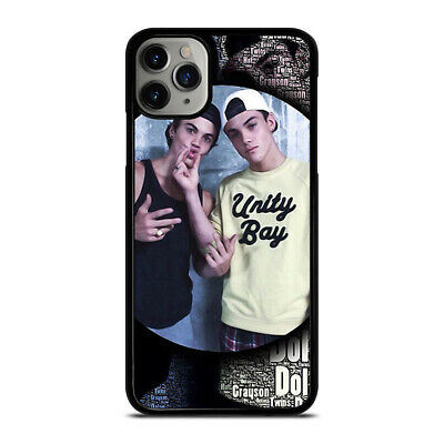 DOLAN TWINS STYLE GRAYSON & ETHAN 1 iPhone 6/6S 7 8 Plus X/XS XR 11 Pro Max Case
