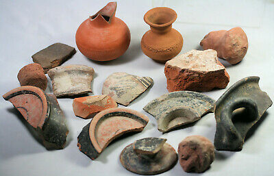 Pottery and fragments - possibly ancient Greek oir Roman
