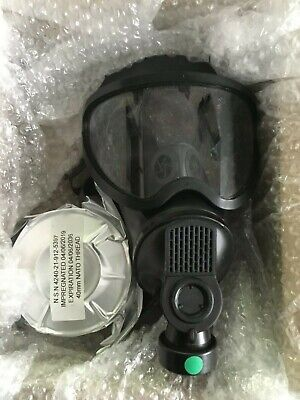 New Full Face Respirator Mask With New Filter Date 2036