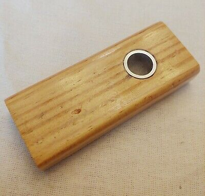 Smoking pipe for tobacco herb Hand crafted small wooden one of a kind Smoke Pipe