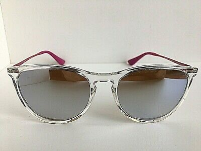 New Ray-Ban Kids RJ 50mm Clear Mirrored Girls Sunglasses No case