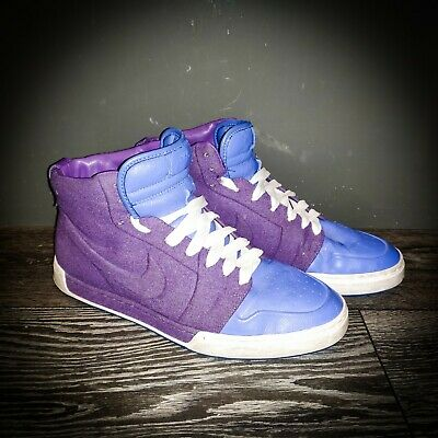 NIKE AIR ROYAL Mid VT Purple Blue men's High Top trainers