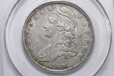 1836 Capped Bust Half 50/00 PCGS XF-45