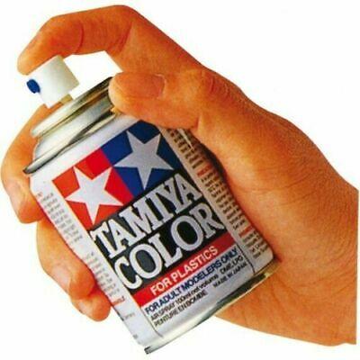 Bombe Peinture TAMIYA COLOR 100 ML : TS-1 RED BROWN MARRON - Pour Plastiques TS