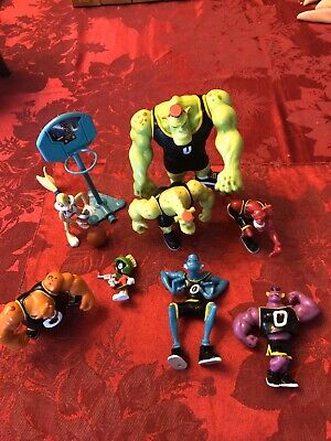 Space Jam Action Figures Blanko,Nawt, Pound, Marvin The Martian, Lola And More