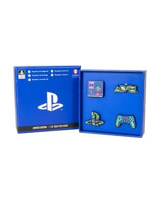 Official PlayStation 25th Anniversary Pin Badge Set - 3 4 Limited Edition 5