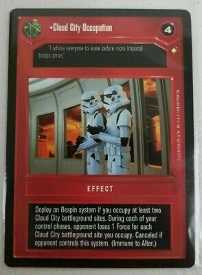 Star Wars CCG - Special Edition - Cloud City Occupation